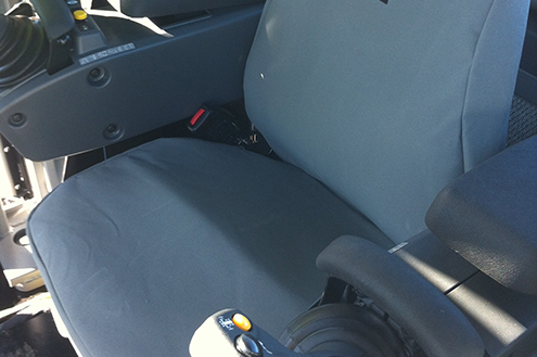 Seat Covers for earthmoving & Mining Machinery